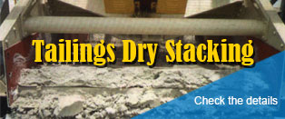 Tailings Dry Stacking